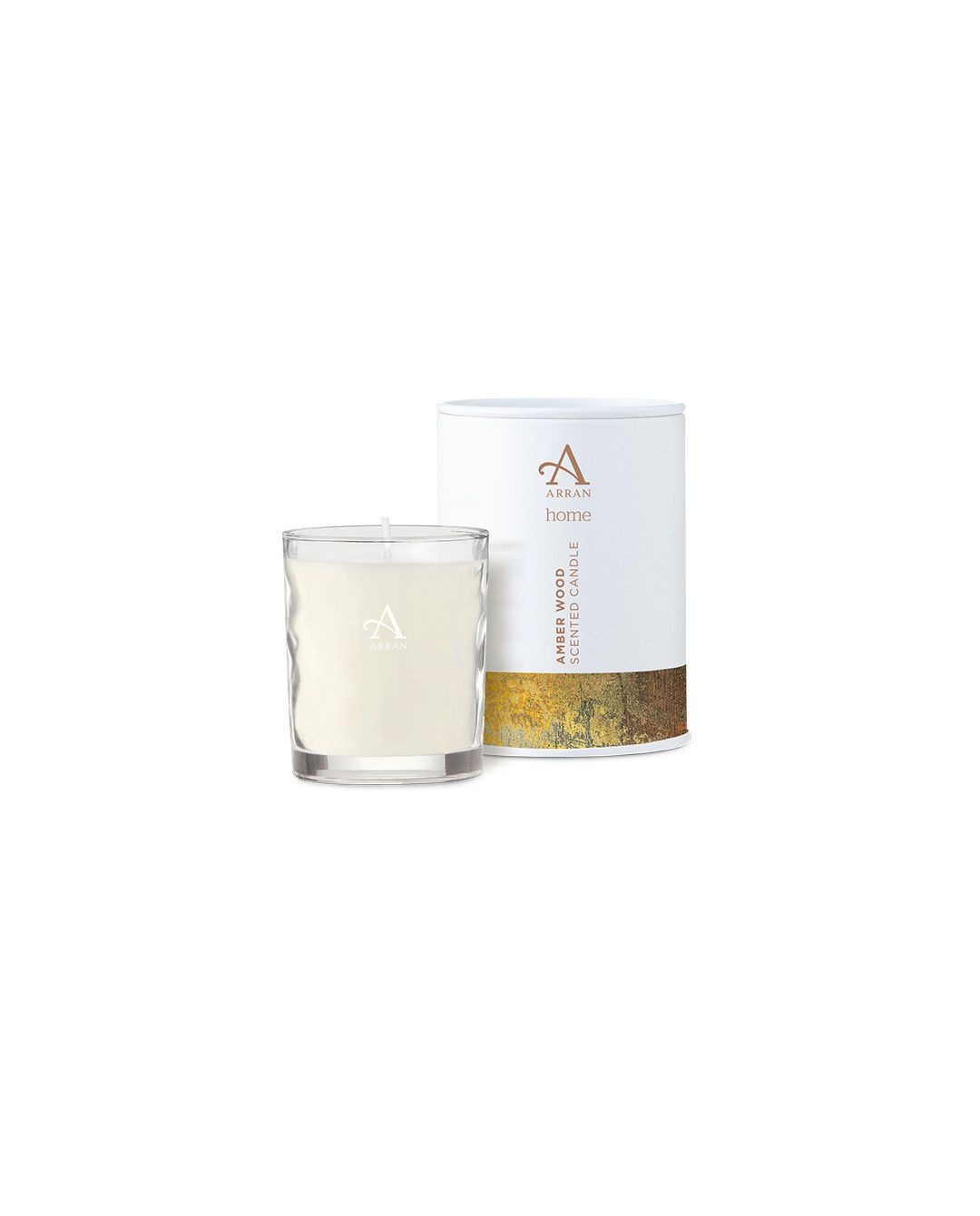 Image of Arran Aromatics Amberwood 8cl Candle in Tin