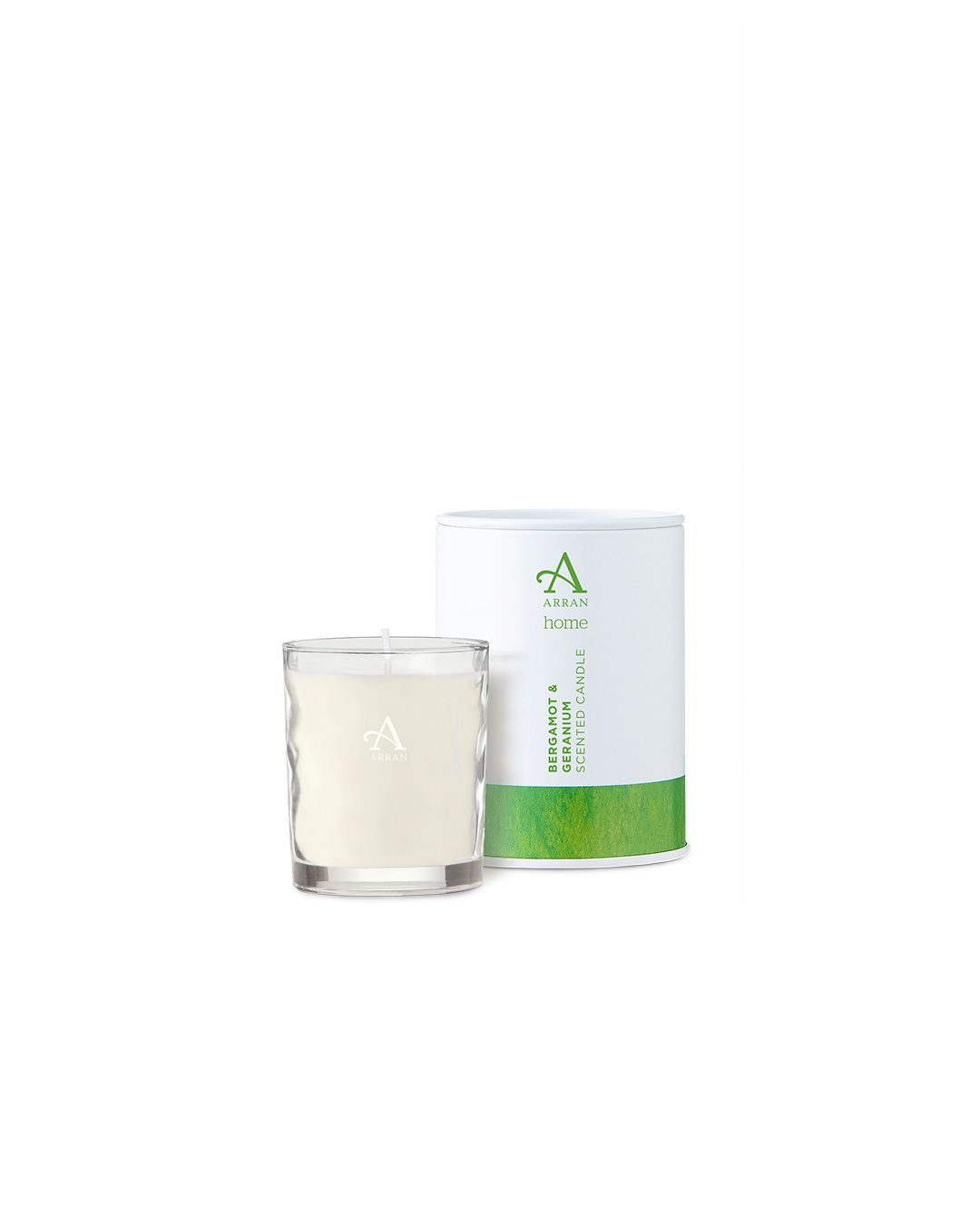 Arran Aromatics Bergamot & Geranium Candle in Tin 8cl