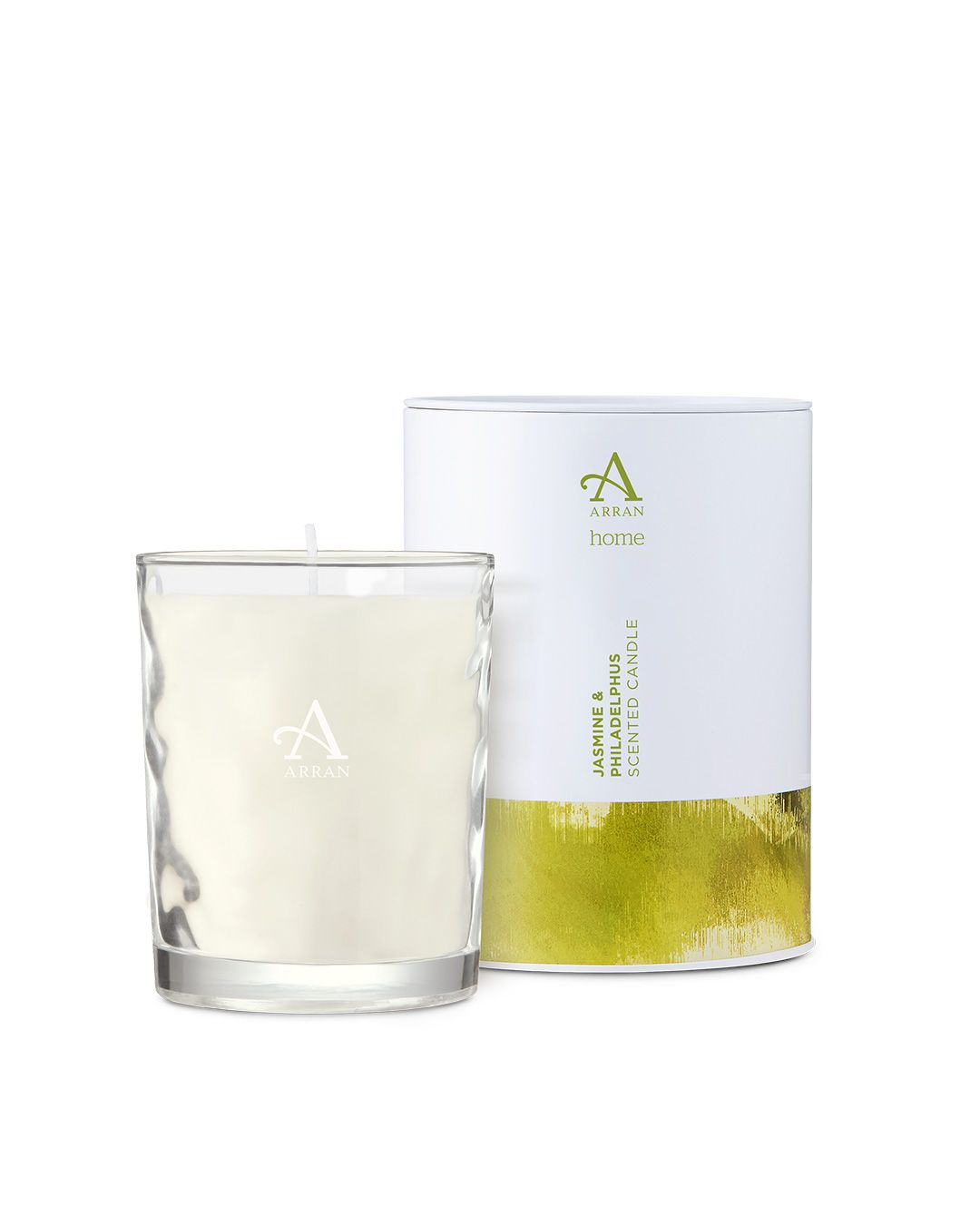 Arran Aromatics Jasmine & Philadelphus Candle in Tin 35cl