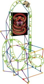 Knex Cobra`s Coil Roller Coaster Building Set