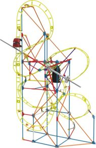 Knex Clockwork Roller Coaster Building Set