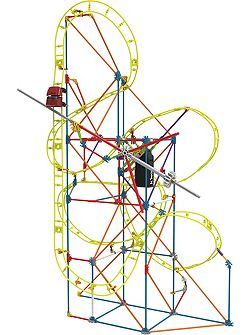 Clockwork Roller Coaster Building Set