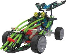 Knex Revvin` Racecar Building Set
