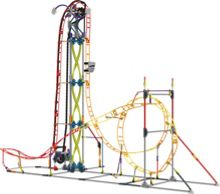 Knex Inferno Roller Coaster Building Set