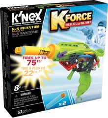 Knex K-Force K-5 Phantom Buildable Blaster