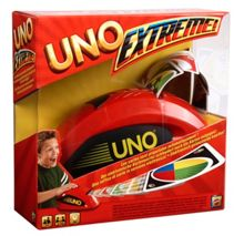 Mattel Uno extreme card game