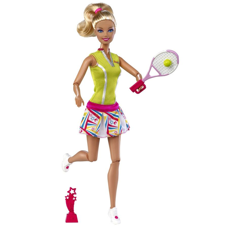 Barbie I Can Be Tennis Player