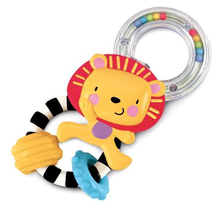 Fisher Price Lion Rattle W5803