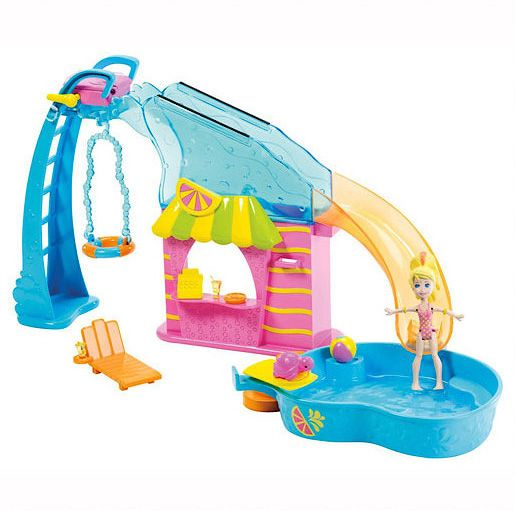 Polly flip swim pool playset