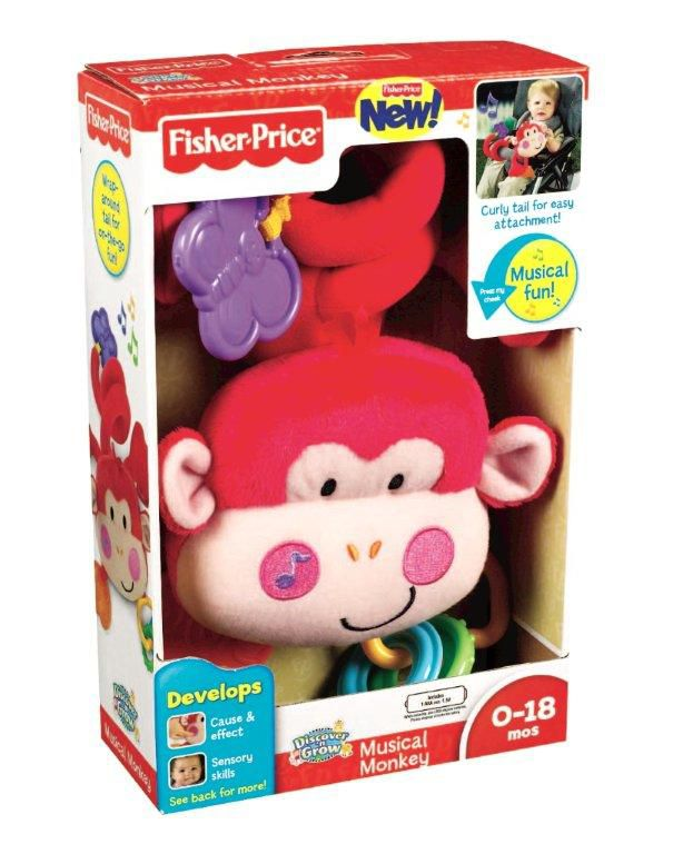 Discover & Gro Musical Monkey