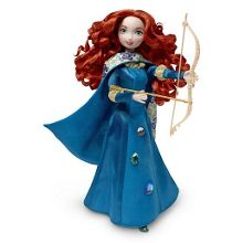 Pixar brave 27cm gem styling merida doll