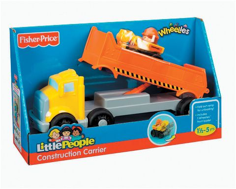 Little People Wheelies Construction Carrier