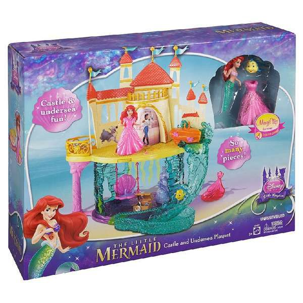 Disney Princess Disney Castle & Under Sea Playset