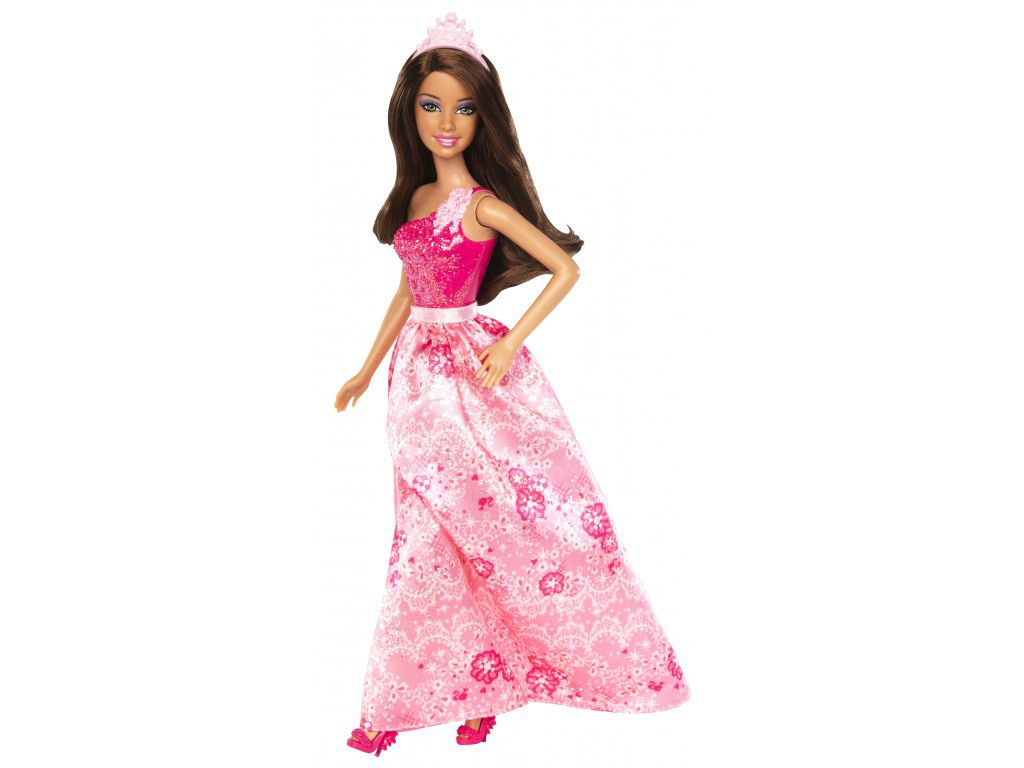 Barbie Fairytale Princess Fashion Doll Brunette