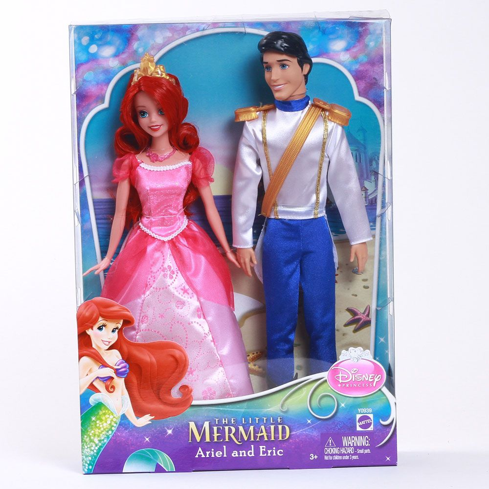 Disney Princess Day Out Ariel & Eric 2 pack