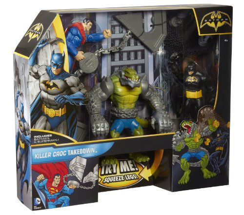Batman Killer Croc Takedown