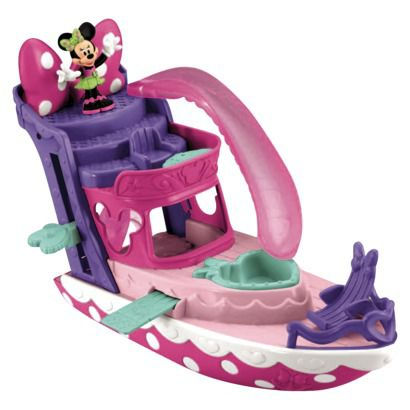 Minnie Mouse Polka Dot Yacht