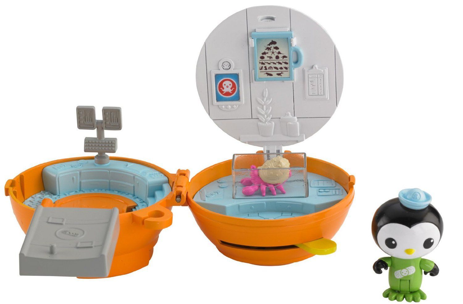 Octonauts Peso`s On-the-Go Pod