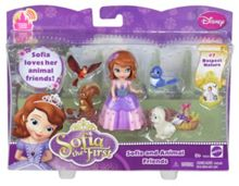Sofia the First Sofia & Animal Friends Figure Pack