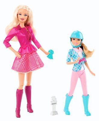 Barbie Sisters Barbie & Stacie Doll 2-Pack