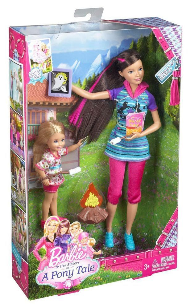 Barbie and Her Sisters in a Pony Tale Skipper and