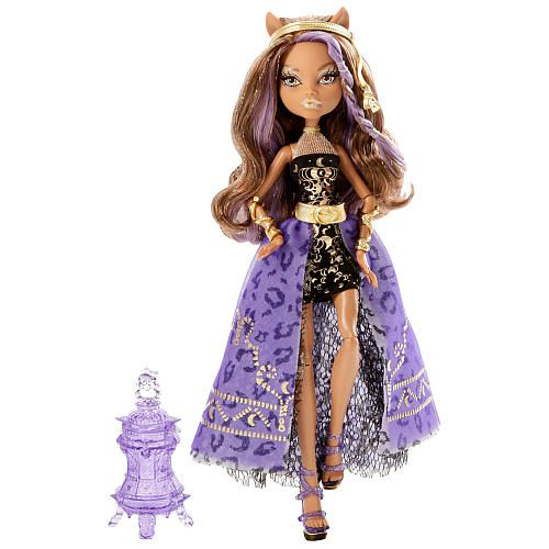Monster High Clawdeen Wolf Rock the Casbah Doll