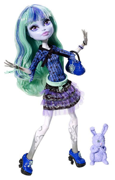 Monster High Twyla 13 Wishes Doll