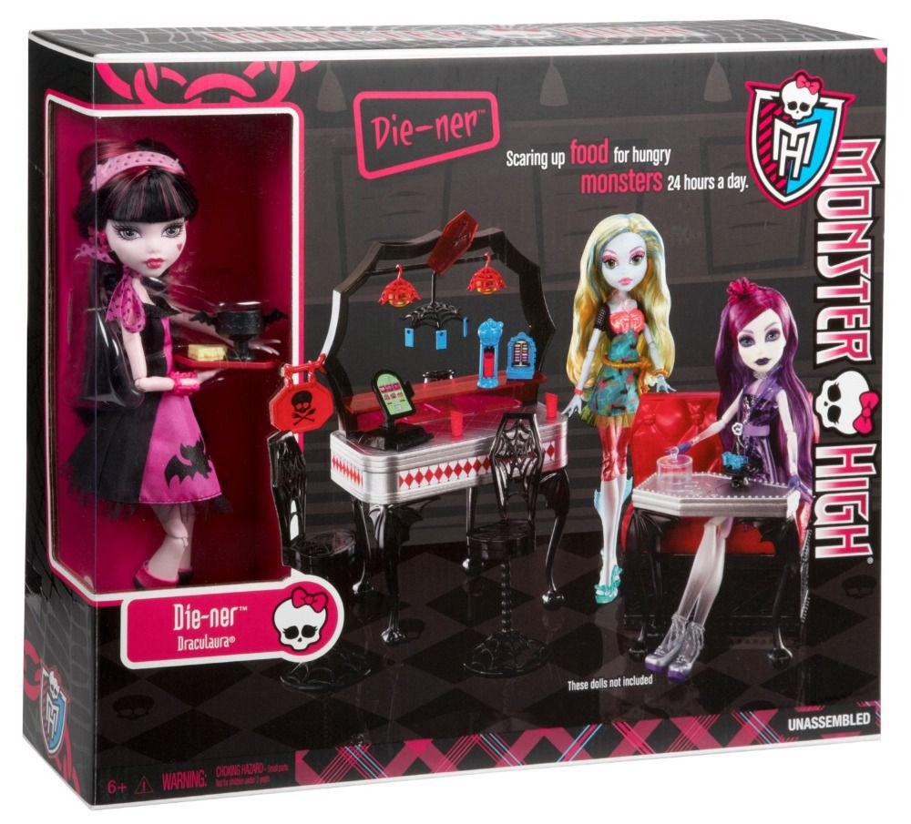 Monster High Die-Ner Playset