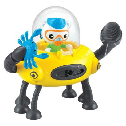 Octonauts Gup D - Ray Crab Mode