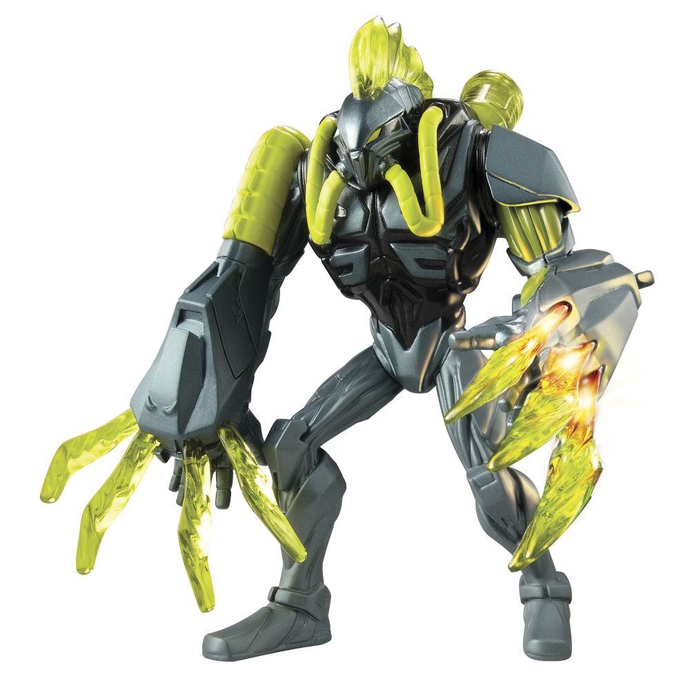 Max Steel Spider Claw Toxzon Launch Figure