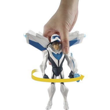 Deluxe turbo flight Max Steel figure
