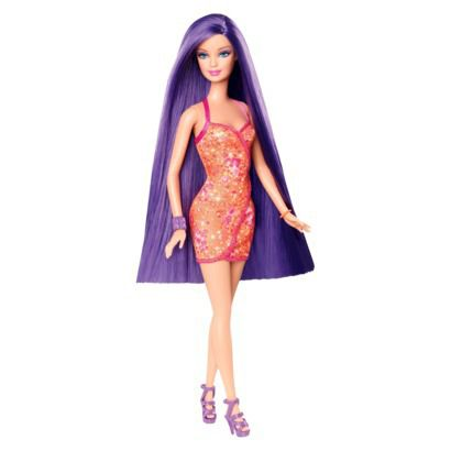 Hairtastic Purple Hair Doll
