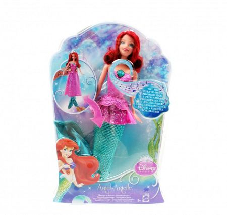 Disney Princesses Ariel Singing Doll