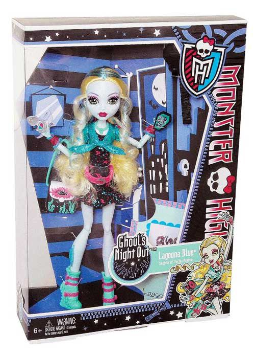 Monster High Lagoona Blue Ghouls Night Out Doll