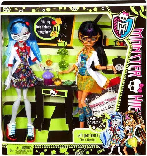 Monster High Ghoulia Yelps & Cleo de Nile Classro