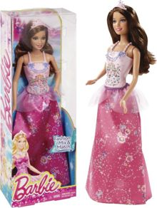 Mix & Match Brunette Princess Doll