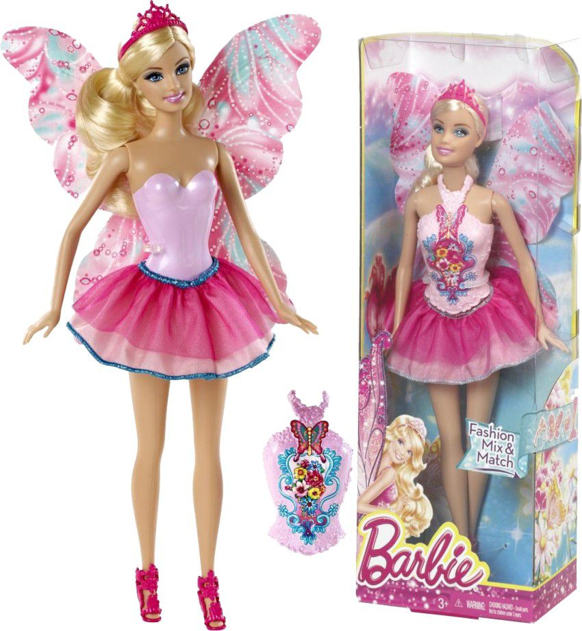 Mix & Match Blonde Fairy Doll
