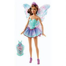 Mix & Match Brunette Fairy Doll
