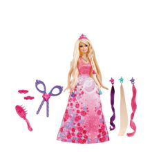Barbie Princess Cut and Style Princess Doll