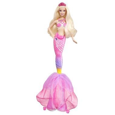 Barbie The Pearl Princess 2-in-1Mermaid Doll