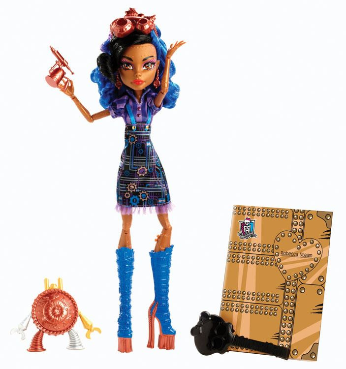 Monster High Robecca Steam Art Class doll