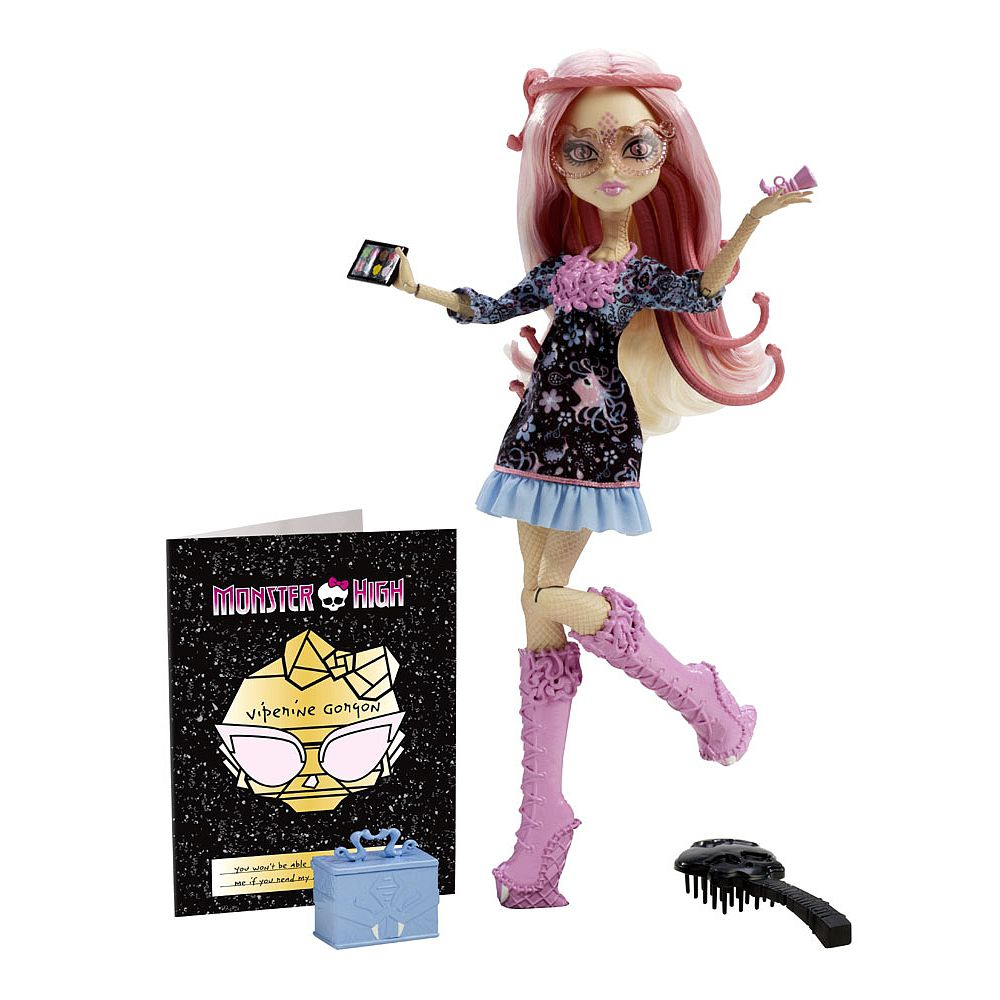 Monster High Frights Camera action Viperine Gorgo