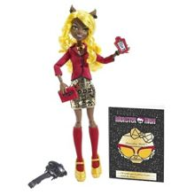 Monster High Frights Camera action Clawdia Wolf D