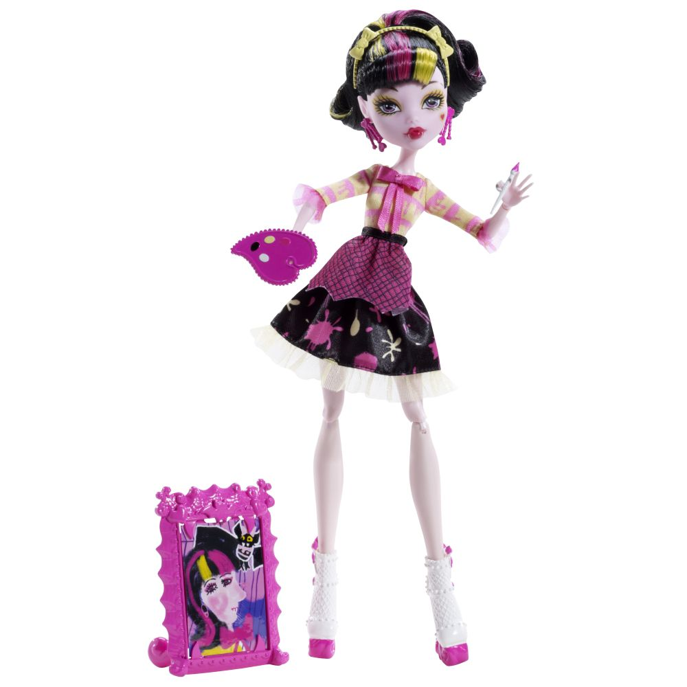Monster High Draculaura Art Class doll