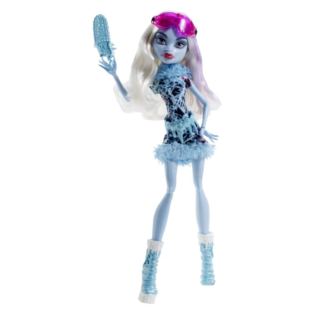 Monster High Abbey Bominable Art Class doll