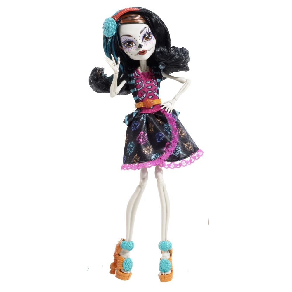 Monster High Skelita Calaveras Art Class doll
