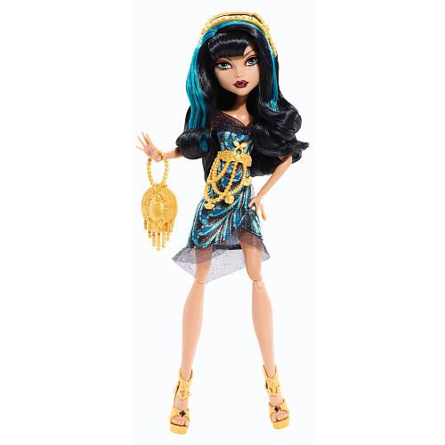 Monster High Cleo De Nile Black Carpet Doll