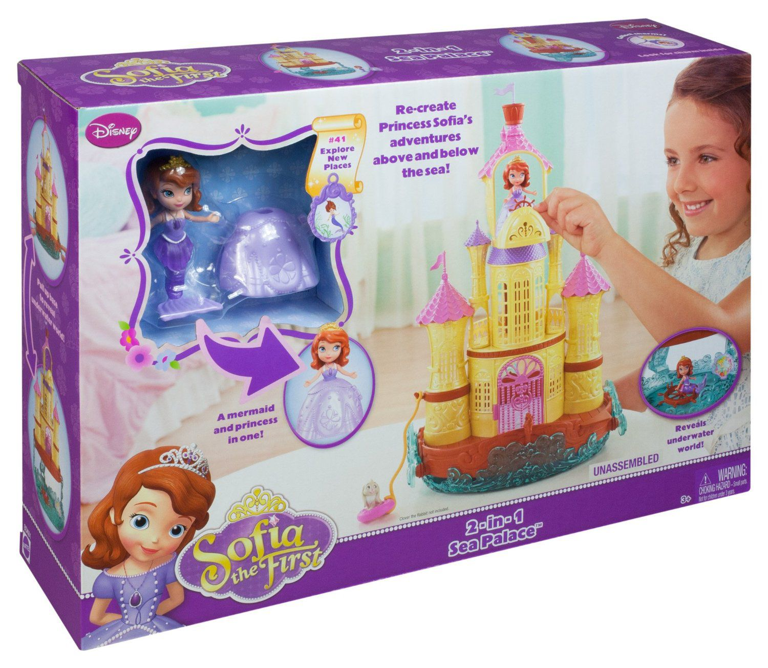 Sofia the First 2-in-1 Sea Palace