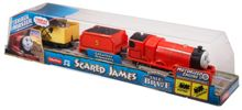 Thomas the Tank Engine TrackMaster Motorised Scared James