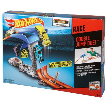 Hot Wheels Double Jump Duel